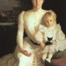 Benson_Frank_W_Mrs._Benjamin_Thaw_and_her_Son