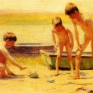anschutz_thomas_p_boys_playing_with_crabs